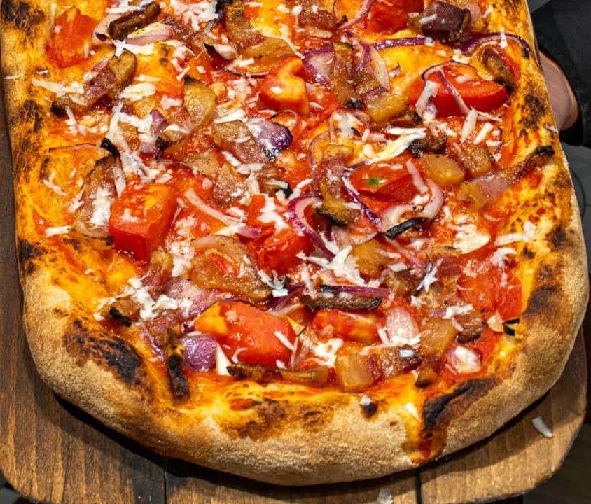 Pizza alla Pala – Amatriciana