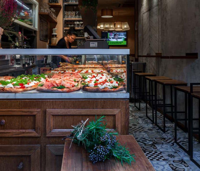 Interni Banco Pizza al Taglio